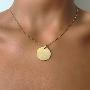 Necklace Charm Zodiac