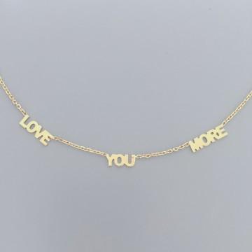 Naszyjnik Expression Love You More