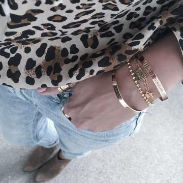 Bracelet Charm Love Star