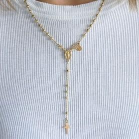 Naszyjnik Beaded Rosary