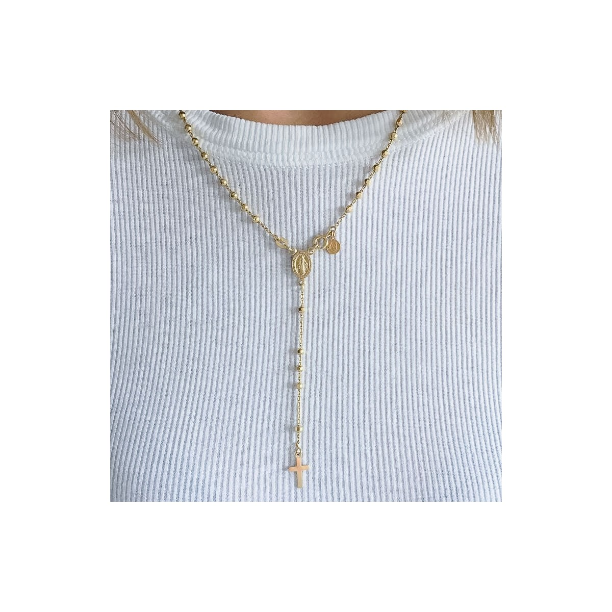 Necklace Beaded Rosary