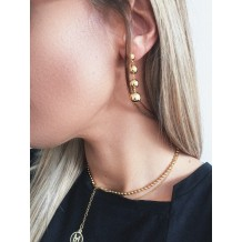 Earrings Beaded Shine