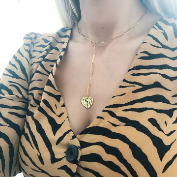 Necklace Charm Heart