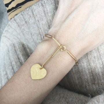 Bransoletka Charm Heart