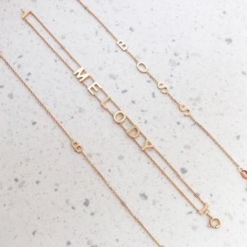 Bracelet Mini Letters