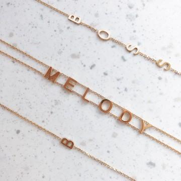 Bracelet Mini Letters Name It Boss