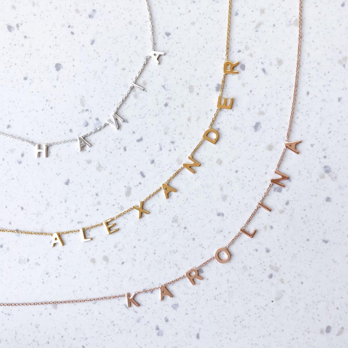 Necklace Letters GIRLBOSS