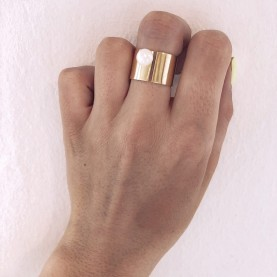 Ring Boho Mini Pearl