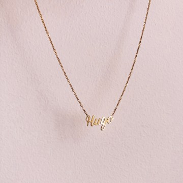 Necklace Letters Sign