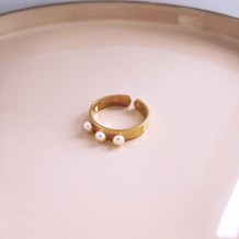Ring Boho Mini Pearl