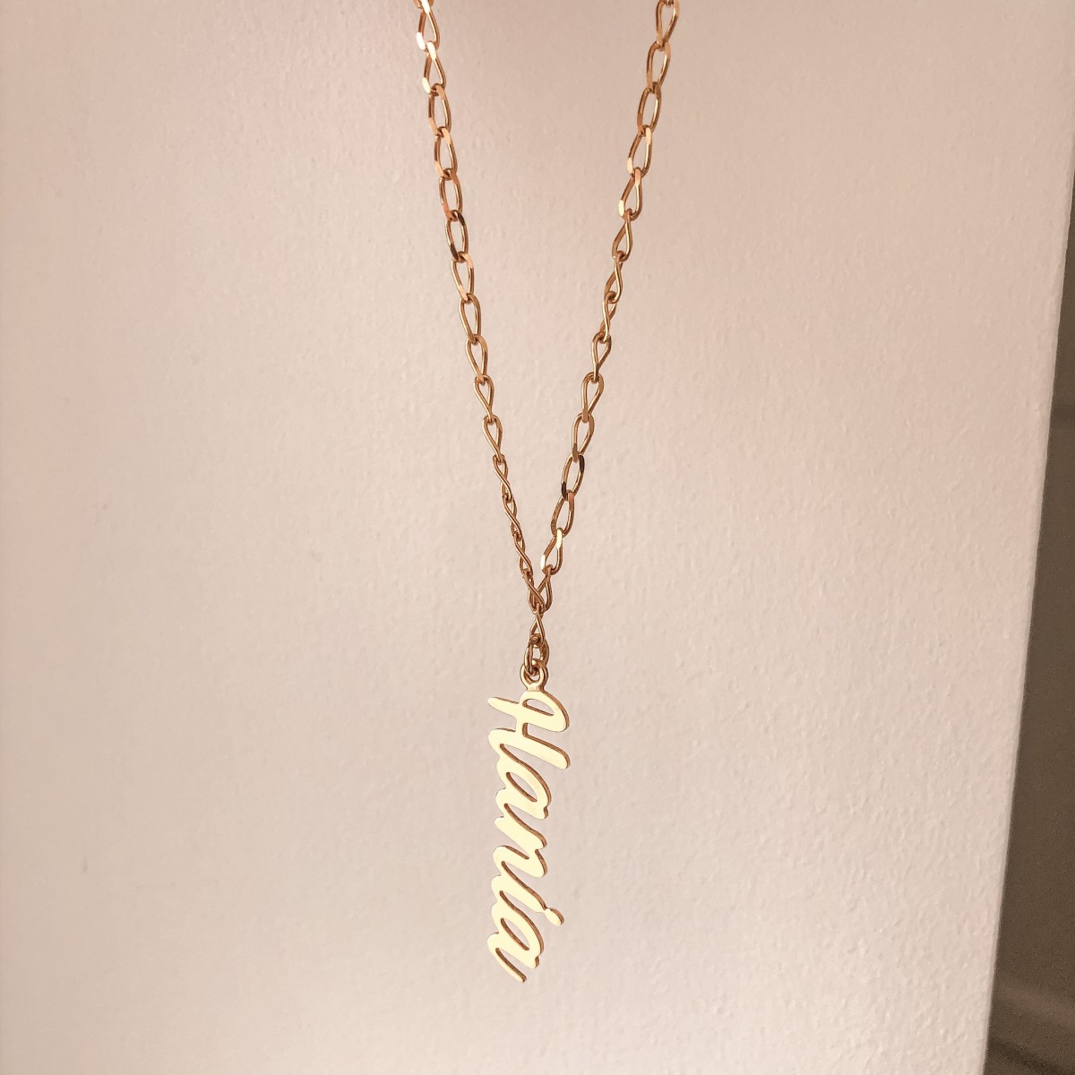 Necklace Letters SIGN LONG