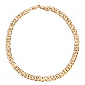 Choker Armored Gold Plated