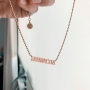 Necklace Letters GIRLBOSS