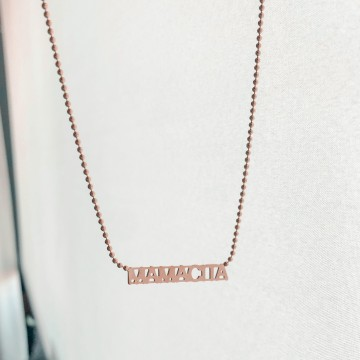 Necklace Letters Sign MAMACITA