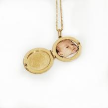 Necklace Charm Photo Locket