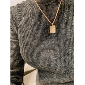 Necklace Wide Bar  Bar Freedom