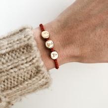 Bracelet Letters Drops