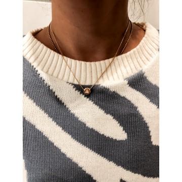 Necklace Letters Drops