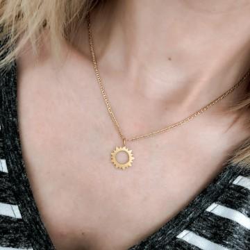 Necklace Charm Sun Mat
