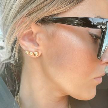 Earrings Beaded Medium Ball Mat