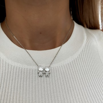 Necklace Charm Pair