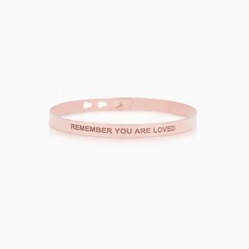 Bracelet  Basic Remember you are loved