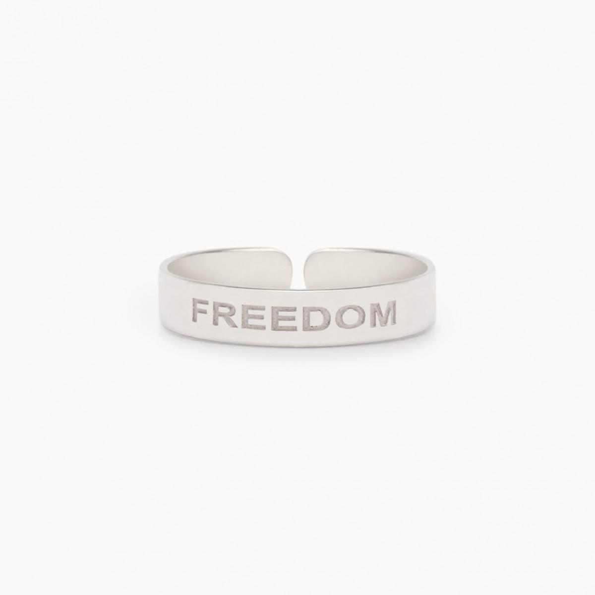 PIERŚCIONEK BASIC FREEDOM