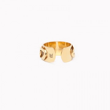 Ring Freak Pancettas Gold Plated