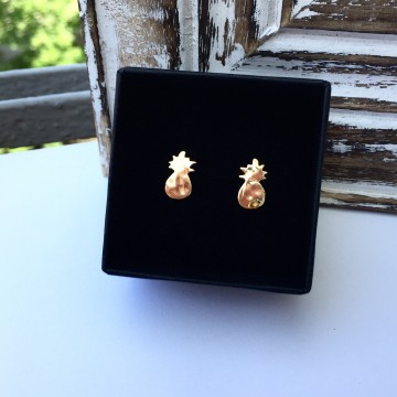 Earrings Boho Pineapples